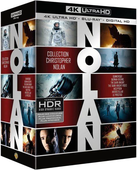 Coffret Christopher Nolan 7 Films - Packshot Blu-ray 4K Ultra HD