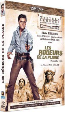 Les Rôdeurs de la plaine (1960) de Don Siegel - Packshot Blu-ray