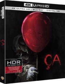 Ça (2017) de Andy Muschietti – Packshot Blu-ray 4K Ultra HD