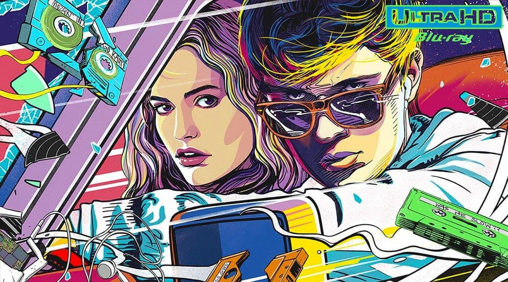 Baby Driver (2017) de Edgar Wright - Blu-ray 4K Ultra HD