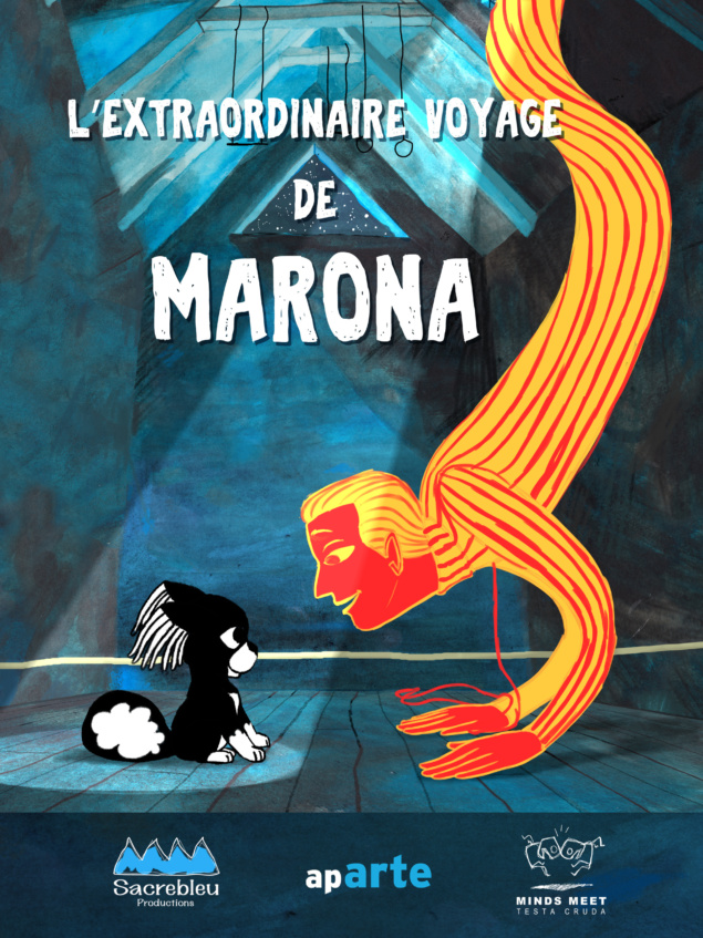 L'Extraordinaire voyage de Marona - Cartoon movie 2018