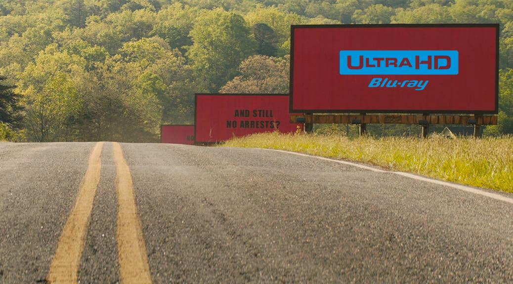 3 Billboards, Les Panneaux de la vengeance (2017) de Martin McDonagh – Blu-ray 4K Ultra HD