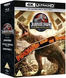 Jurassic Park : La Trilogie - Packshot Blu-ray 4K Ultra HD