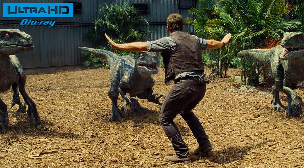 Jurassic World (2015) de Colin Trevorrow – Blu-ray 4K Ultra HD