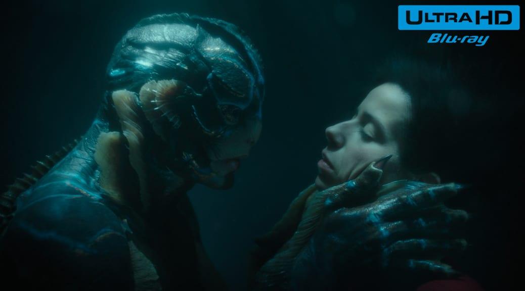 La Forme de l'eau (2017) de Guillermo del Toro – Blu-ray 4K Ultra HD