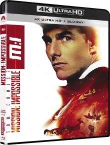 Mission : Impossible (1996) de Brian De Palma – Packshot Blu-ray 4K Ultra HD