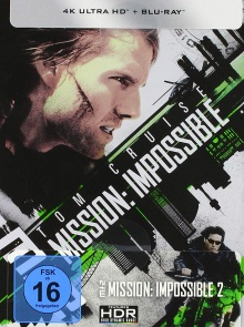 M-I:2 Mission : Impossible 2 - Steelbook (2000) de John Woo - Packshot Blu-ray 4K Ultra HD