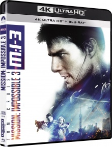 M:I:III - Mission : Impossible 3 (2006) de J.J. Abrams – Packshot Blu-ray 4K Ultra HD