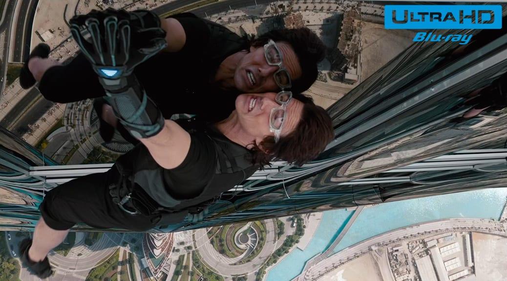 Mission : Impossible 4 - Protocole fantôme (2011) de Brad Bird – Blu-ray 4K Ultra HD