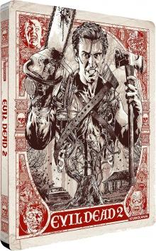 Evil Dead 2 (1987) de Sam Raimi - Packshot Blu-ray 4K Ultra HD