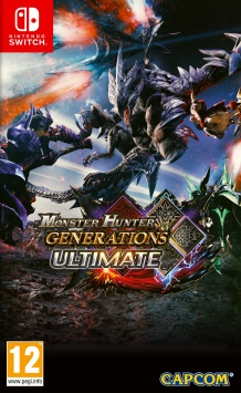 Monster Hunter Generations Ultimate - Packshot Nintendo Switch