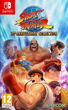 Street Fighter - 30th Anniversary Collection - Packshot Nintendo Switch