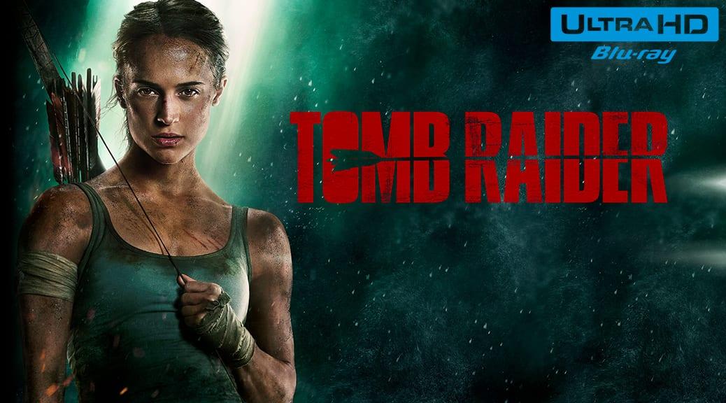 Tomb Raider (2018) de Roar Uthaug – Blu-ray 4K Ultra HD