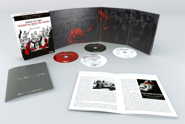 Voyage au bout de l'enfer (1978) de Michael Cimino – Packshot Blu-ray 4K Ultra HD (Ouvert)