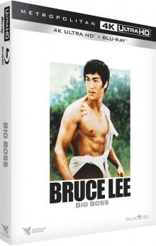 Big Boss (1971) de Lo Wei – Packshot Blu-ray 4K Ultra HD