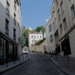 Rue des Cascades en 2018