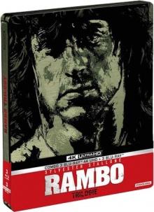 Rambo - Coffret trilogie – Packshot Blu-ray 4K Ultra HD