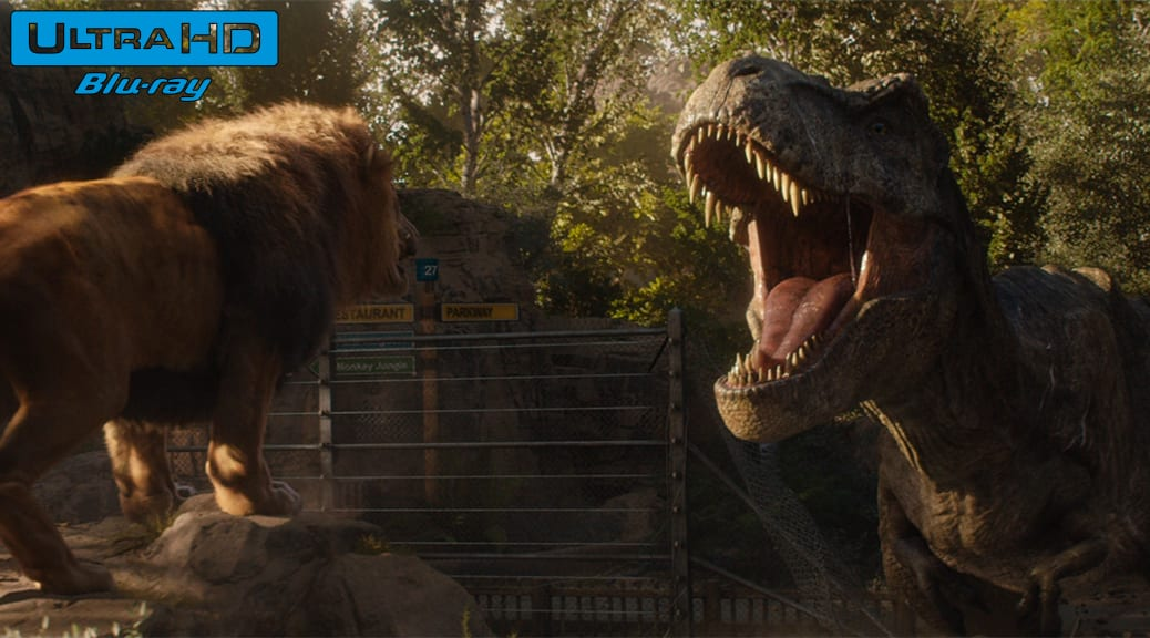 Jurassic World : Fallen Kingdom (2018) de J.A. Bayona – Blu-ray 4K Ultra HD