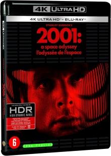 2001, l'Odyssée de l'espace (1968) de Stanley Kubrick – Packshot Blu-ray 4K Ultra HD
