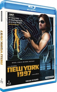 Escape from New York (New York 1997) - Jaquette Blu-ray Studio Canal