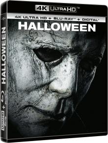 Halloween (2018) de David Gordon Green – Packshot Blu-ray 4K Ultra HD