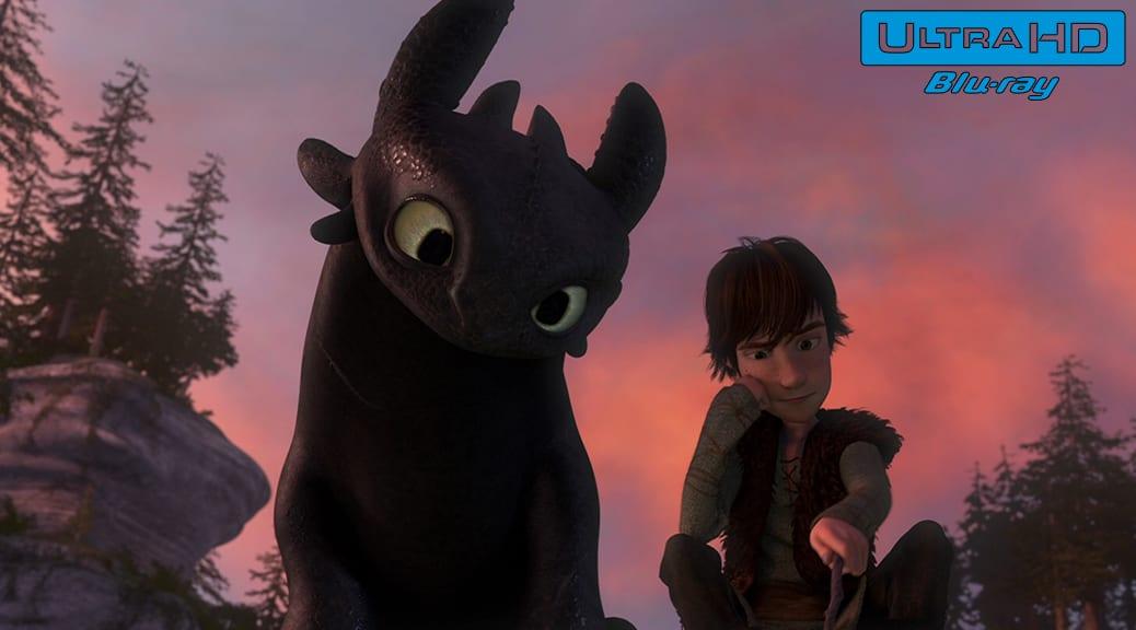 Dragons (2010) de Dean DeBlois & Chris Sanders – Blu-ray 4K Ultra HD