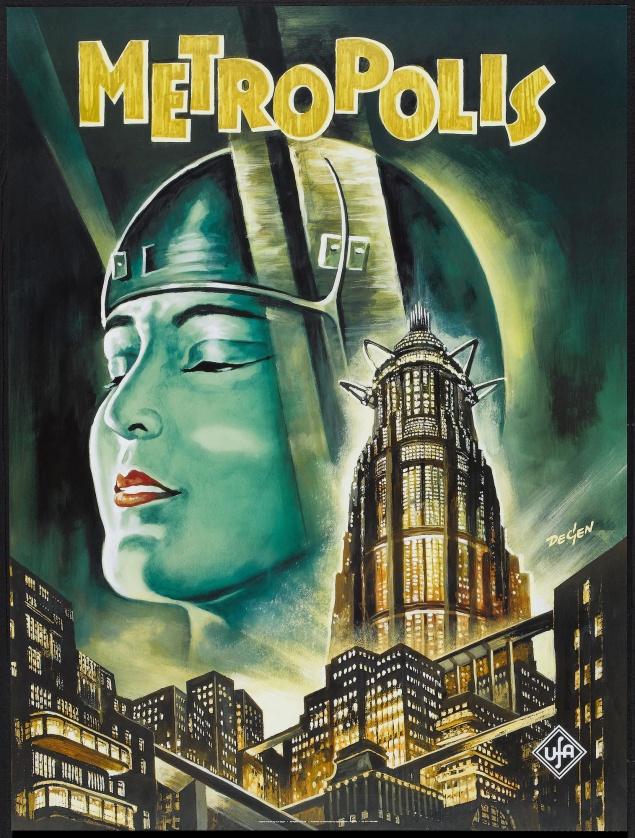 Metropolis - Affiche allemande