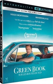 Green Book : Sur les routes du Sud (2018) de Peter Farrelly - Packshot Blu-ray 4K Ultra HD
