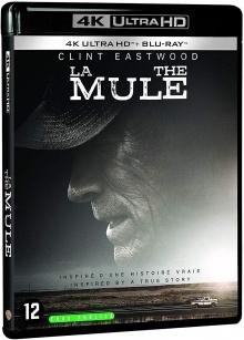 La Mule (2018) de Clint Eastwood – Packshot Blu-ray 4K Ultra HD