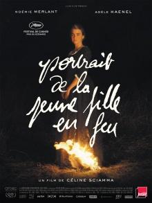 Portrait de la jeune fille en feu - Affiche