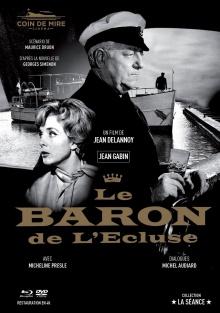 Le Baron de l'écluse - Jaquette Blu-ray