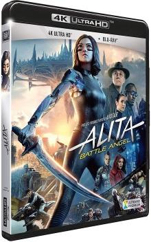 Alita : Battle Angel (2019) de Robert Rodriguez - Packshot Blu-ray 4K Ultra HD