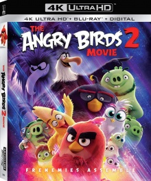 Angry Birds : Copains comme cochons (2019) de Thurop Van Orman & John Rice - Packshot Blu-ray 4K Ultra HD