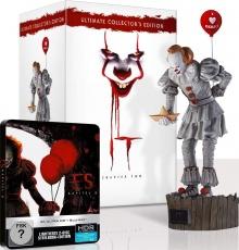 Ça : Chapitre 2 (2019) de Andy Muschietti - Édition Statue Pennywise - Packshot Blu-ray 4K Ultra HD