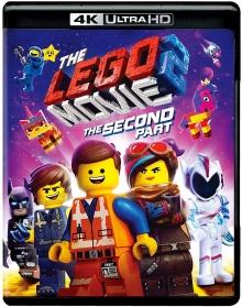 La Grande Aventure Lego 2 (2019) de Mike Mitchell - Packshot Blu-ray 4K Ultra HD