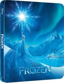 La Reine des neiges II (2019) de Chris Buck et Jennifer Lee – Édition Steelbook - Packshot Blu-ray 4K Ultra HD