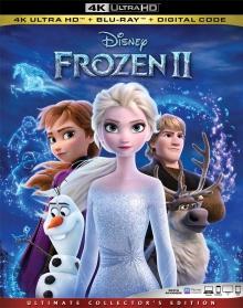La Reine des neiges II (2019) de Chris Buck et Jennifer Lee - Packshot Blu-ray 4K Ultra HD