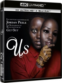 Us (2019) de Jordan Peele - Packshot Blu-ray 4K Ultra HD