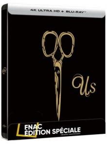 Us (2019) de Jordan Peele - Steelbook Édition Spéciale Fnac - Packshot Blu-ray 4K Ultra HD