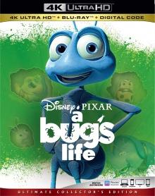 1001 pattes (1998) de John Lasseter et Andrew Stanton - Packshot Blu-ray 4K Ultra HD