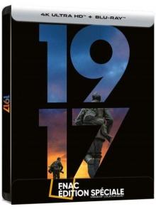 1917 (2019) de Sam Mendes - Steelbook Édition Spéciale Fnac – Packshot Blu-ray 4K Ultra HD