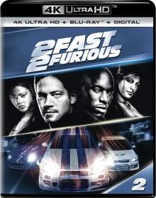 2 Fast 2 Furious (2003) de John Singleton - Packshot Blu-ray 4K Ultra HD