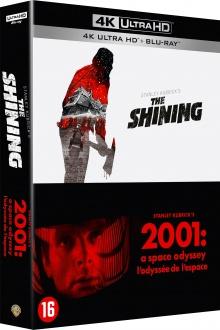 2001, l'Odyssée de l'espace + Shining - Packshot Blu-ray 4K Ultra HD