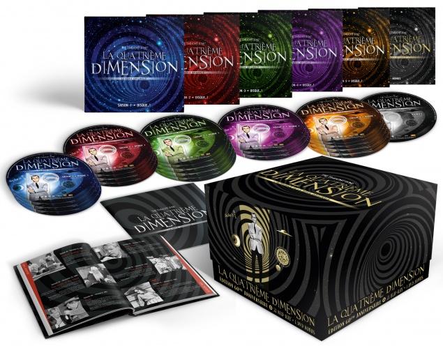 The Twilight Zone - La Quatrième Dimension - Coffret Blu-ray