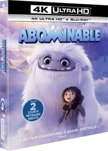 Abominable (2019) de Jill Culton et Todd Wilderman – Packshot Blu-ray 4K Ultra HD