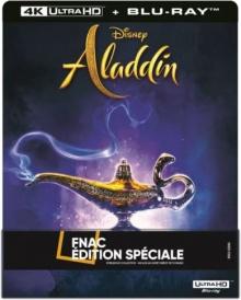 Aladdin (2019) de Guy Ritchie - Steelbook Édition Spéciale FNAC - Packshot Blu-ray 4K Ultra HD
