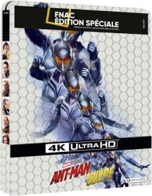 Ant-Man et la Guêpe (2018) de Peyton Reed - Édition Fnac Steelbook - Packshot Blu-ray 4K Ultra HD