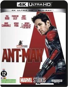 Ant-Man (2015) de Peyton Reed - Packshot Blu-ray 4K Ultra HD