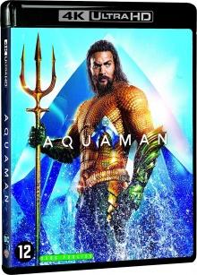 Aquaman (2018) de James Wan - Packshot Blu-ray 4K Ultra HD