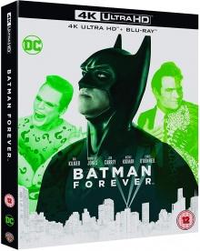 Batman Forever (1995) de Joel Schumacher - Packshot Blu-ray 4K Ultra HD